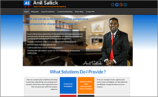 WordPress website Anil