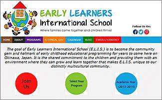 ELIS WordPress website