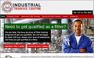 Wordpress Website Industrial