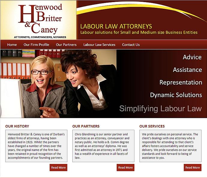 Henwood Website Design