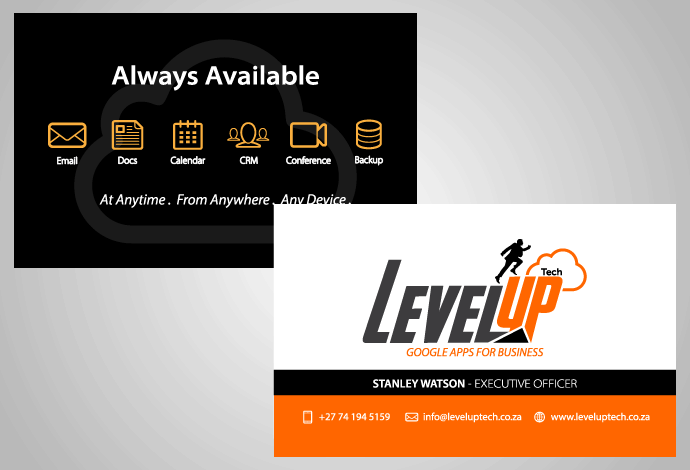 Level Up Business Card