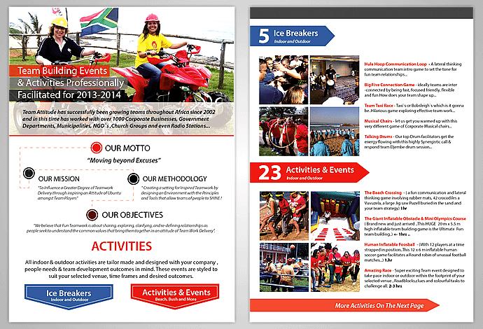 Team Brochure Design